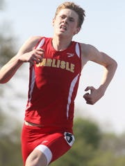 Carlisle's J.J. Orput qualified for the state track