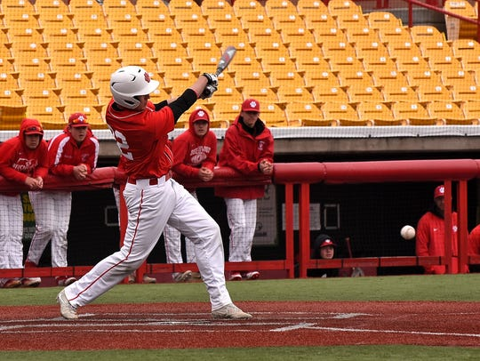 Devin Johnson adds to the RBI total for Beechwood at