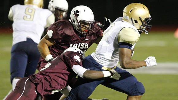 Following its 3-0 win over Canisius, Aquinas Institute is No. 1 in the large-schools football poll.