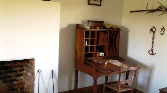 Many of the buildings at Appomattox have period or reproduction furnishings.