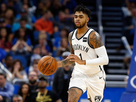 26. Brooklyn Nets (6-10) | Last week: 25 - More bad news for the Nets, who announced Friday that D'Angelo Russell will be out indefinitely after undergoing arthroscopic surgery on his left knee.