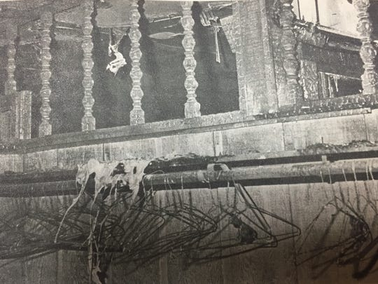 Further effects of the fire that destroyed The Hitching Post in Sturgis in January 1980 are shown here.