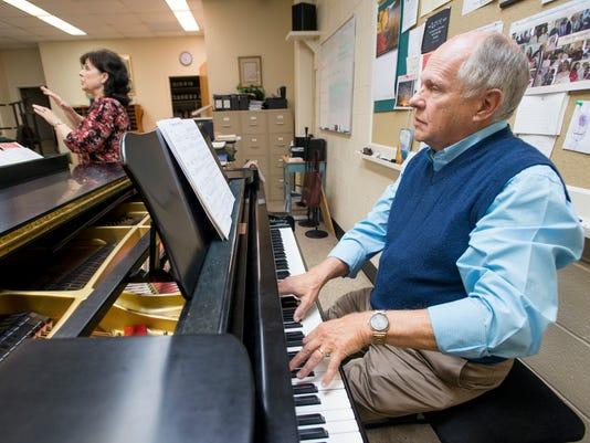 Composer Allen Pote
