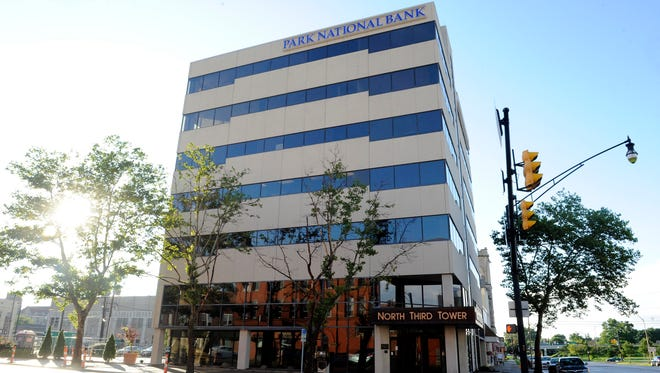 North Third Tower, home to Park National Bank.