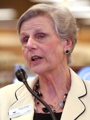 Cindy Hubert will retire as president and CEO of Gleaners Food Bank in September.