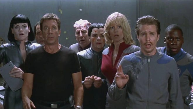"""A new exhibit at the Glenn H. Curtiss Museum in Hammondsport will feature props, costumes and artifacts from sci-fi films and television shows as """"Galaxy Quest."""""""
