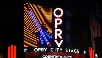 The new Opry City Stage in New York City.