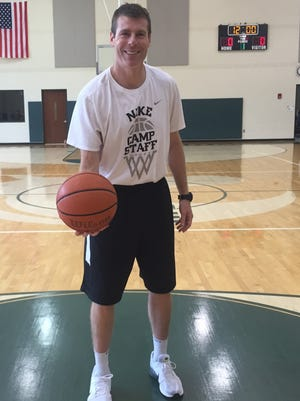 Christ Presbyterian Academy coach Drew Maddux has spent the summer accepting trick shot challenges.