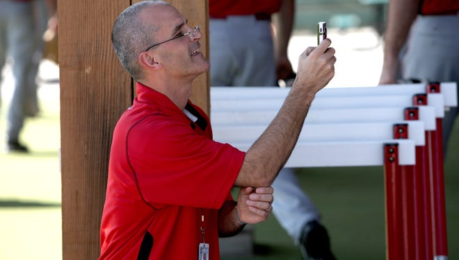 Reds director of media relations Rob Butcher