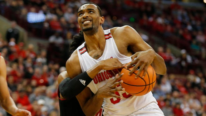 Keita Bates-Diop scored a team-high 20 points for Ohio State.