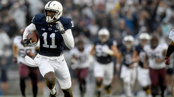 Freshman Irv Charles owned possibly the biggest moment of the day for Penn State vs. Minnesota. Does this spark a breakout second half from the towering receiver?