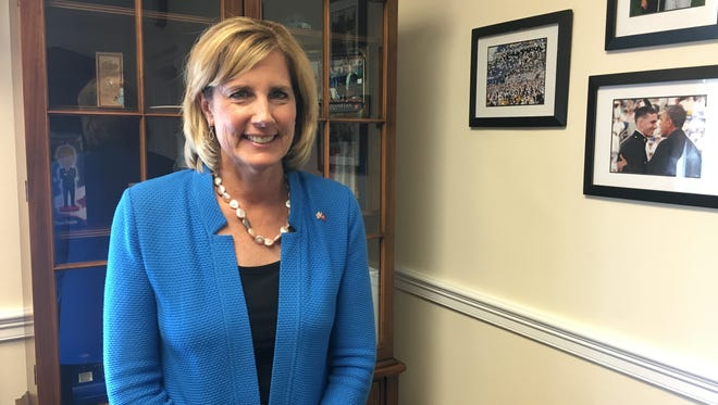 Rep. Claudia Tenney, R-New Hartford, in her Washington, D.C., office on Jun 13 during a wide-ranging interview.