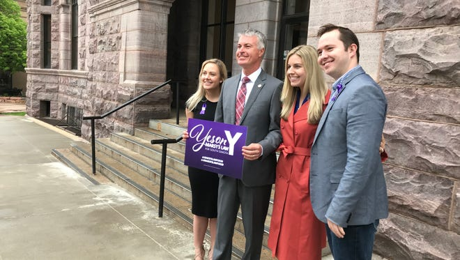 Attorney General Marty Jackley on Monday voiced support for Amendment Y, which is set to come before voters on the June 5 primary ballot.