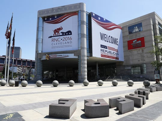 The 2016 Republican National Convention is July 18-21 in Cleveland.