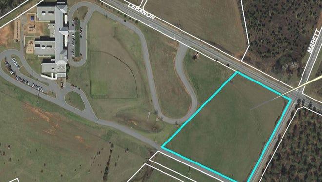 Residents opposed an effort to rezone 6.5 acres next to Mount Lebanon Elementary School near Pendleton.