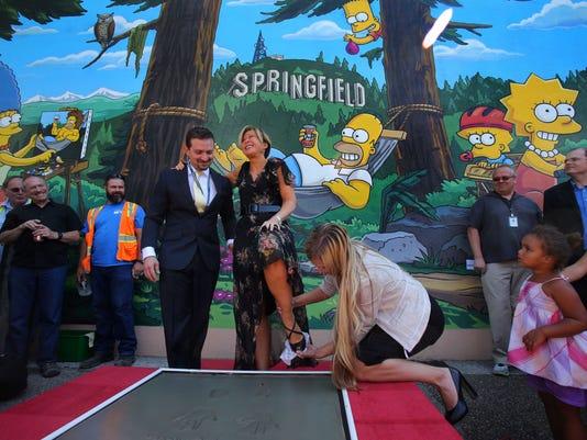 The Simpsons Mural_Davi