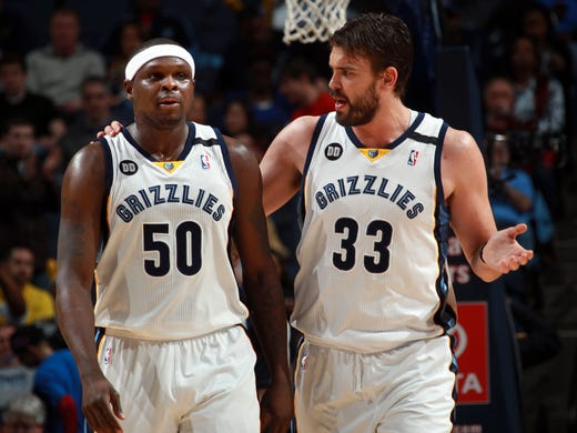 March 29, 2013 - Memphis Grizzlies forward Zach Randolph