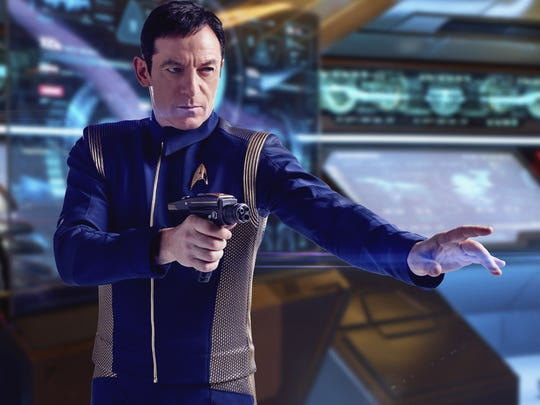 Captain Gabriel Lorca (Jason Isaacs) provides a burst of energy and mystery when he arrives on 'Star Trek: Discovery.'
