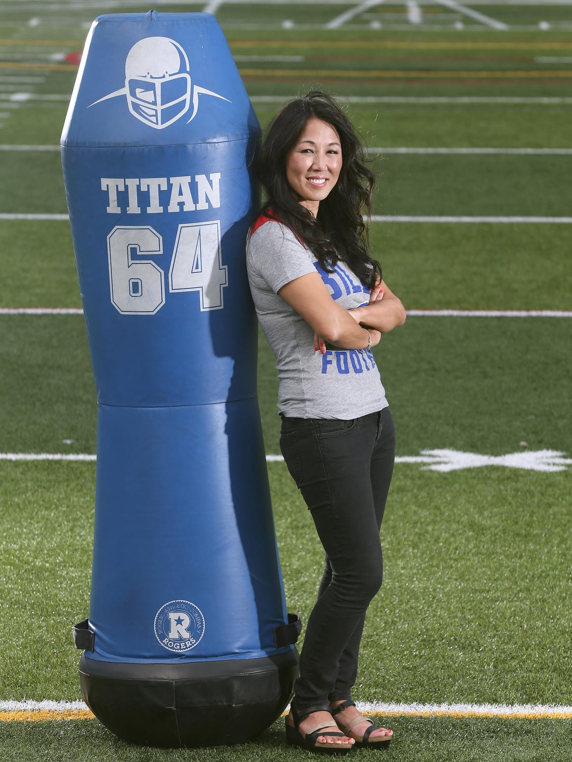 Fairport native Kim Pegula, co-owner of the Buffalo