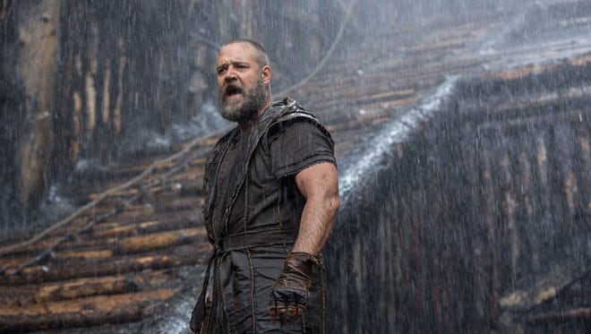Russell Crowe plays the titular hero in 'Noah,'  director Darren Aronofsky's take on the biblical tale.
