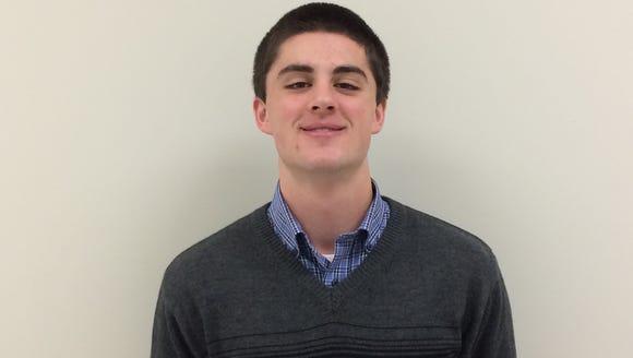 Hayesville senior Josh Cottrell.