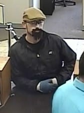 Des Moines police are searching for this U.S. Bank robbery suspect.