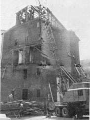 A 19th century grain elevator at the White Star Mills