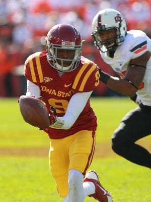 Quenton Bundrage is one of the many talented receivers returning for Iowa State.