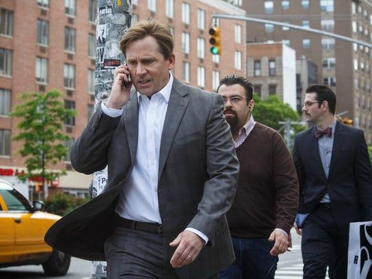 Steve Carell stars as banker Mark Baum in 'The Big