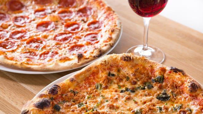 Create your own pizza with various toppings and crusts at Sauce Pizza & Wine.