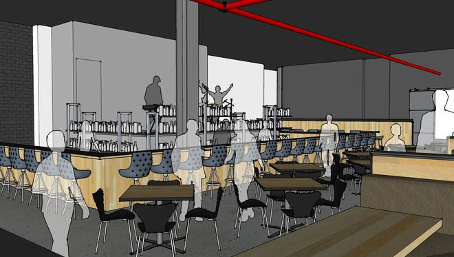The Morrie in Birmingham will include a stage for live entertainment.