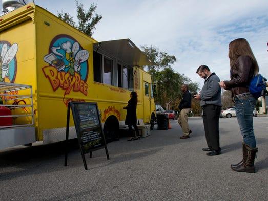 Pensacola Downtown Food Trucks