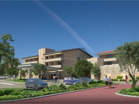 Here's what the exterior will look like at the expanded Holiday Inn Express at Ventura Harbor.