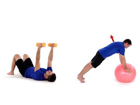 EXERCISE: Serratus punches, push-up plus