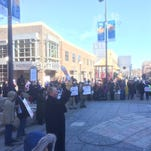 Iowa City residents hold Affordable Care Act rally