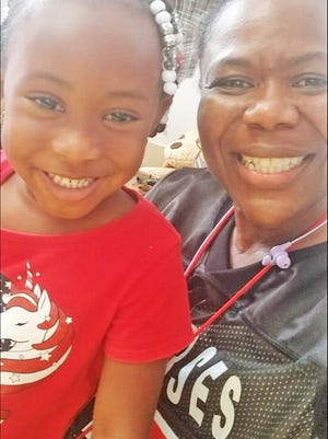 Avery Jones, pictured here with her grandmother, Adrian Robinson, is one of many children helped by Barnwell County First Steps.
