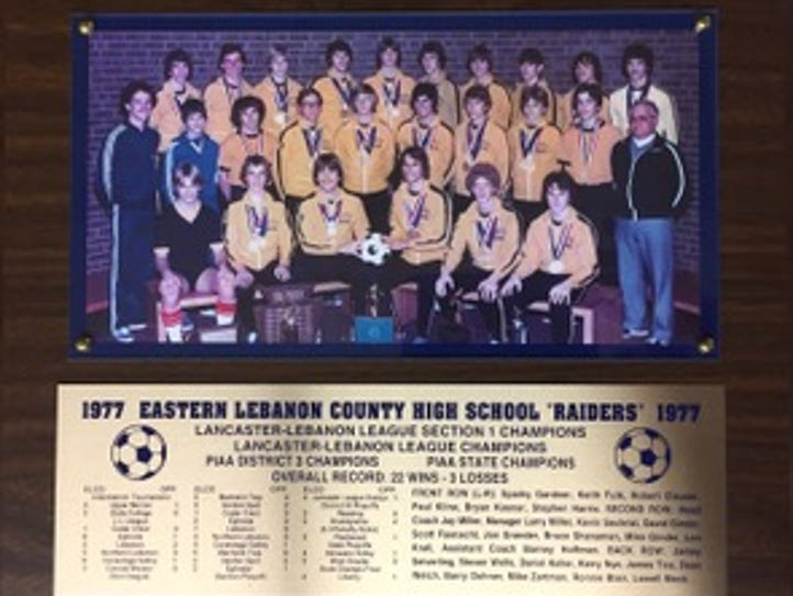 The 1977 Elco boys soccer team captured the program's