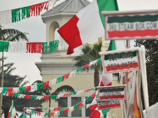 The Taste of Little Italy opens for the first of three days Friday, Jan. 27, 2017, at Tradition Square in Port St. Lucie. The Italian festival, in its 10th year, continues from 3 to 10 p.m. on Friday, 10 a.m. to 10 p.m. on Saturday and 10 a.m. to 8 p.m. on Sunday.
