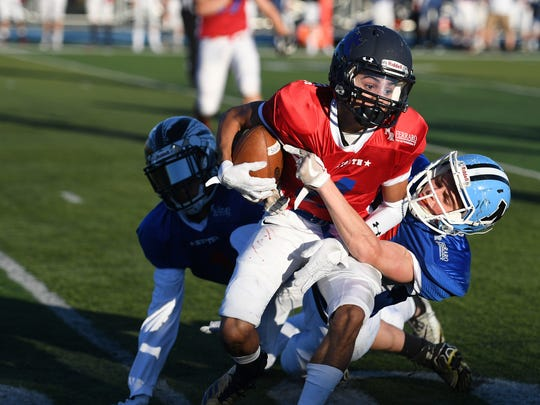 Bergen County Football All-Star Game at Lyndhurst High
