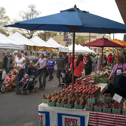 The Collingswood Farmers Market is one of many local