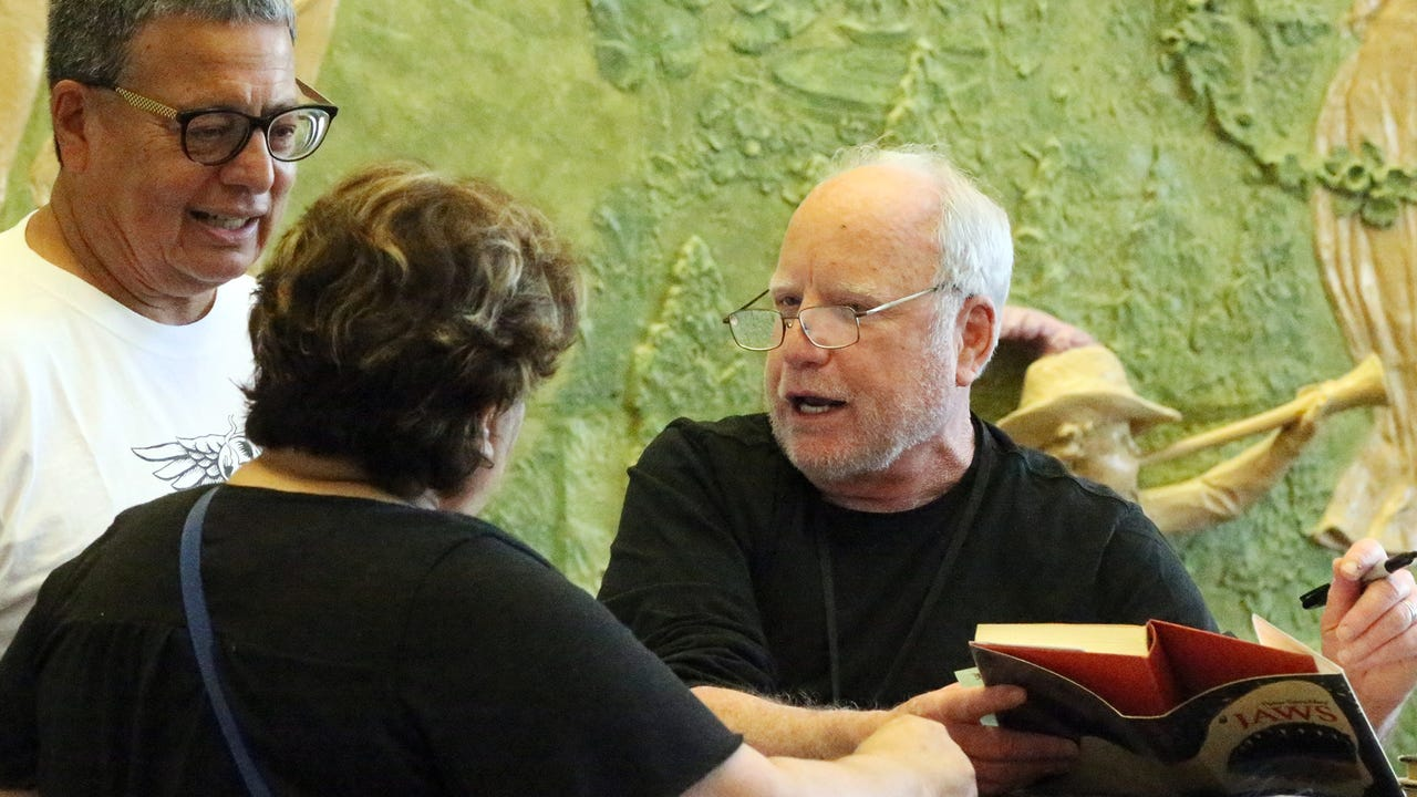 Actor Richard Dreyfuss at the Plaza film festival