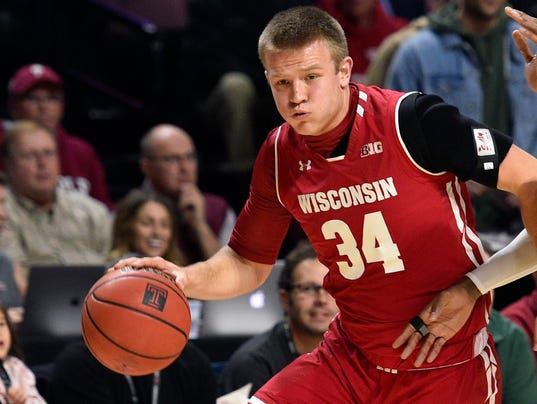 NCAA Basketball: Wisconsin at Temple