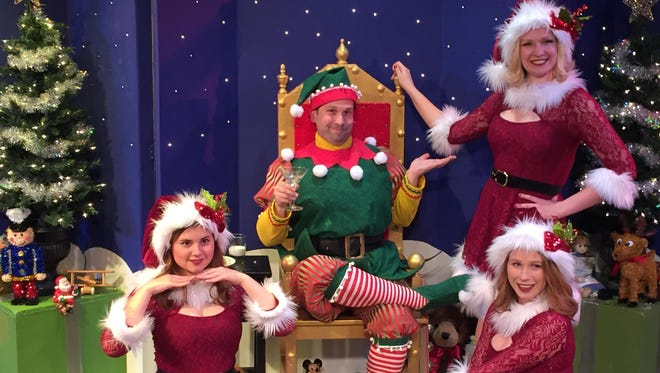 """Springfield Contemporary Theatre will stage a revival of last season's """"The Santaland Diaries"""" (Dec. 8-17)."""