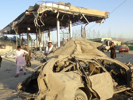 EPA AFGHANISTAN SUICIDE BOMB ATTACK WAR CONFLICTS (GENERAL) AFG