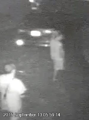 Suspects caught on camera on September 13 in south Titusville burglaries.