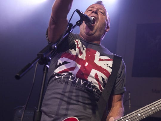 Peter Hook performs at The Music Box on Sept. 14, 2011 in Los Angeles, Calif.