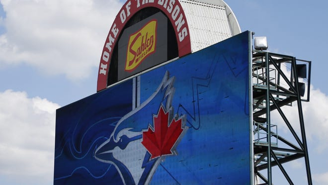 Sahlen Field in Buffalo will host home games this summer for the Toronto Blue Jays, giving the Sahlen meat company some unexpected but welcome national exposure.