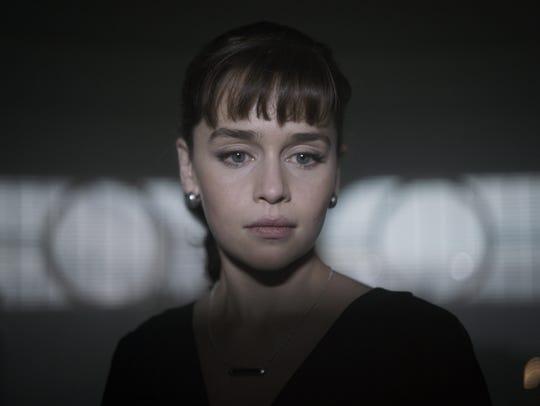 """Emilia Clarke stars in """"Solo: A Star Wars Story."""""""