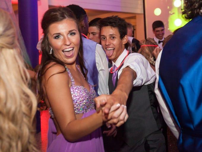 Yorktown High School celebrated their 2015 prom by