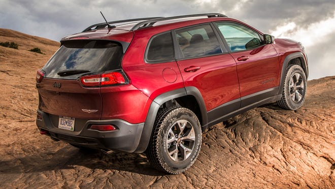Chrysler September sales were boosted by growth for the Jeep brand, including this Jeep   Cherokee compact SUV.